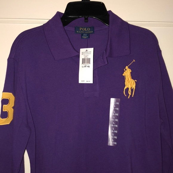 2105ad29 Polo by Ralph Lauren Shirts & Tops | Polo Ralph Lauren Big Pony Polo ...